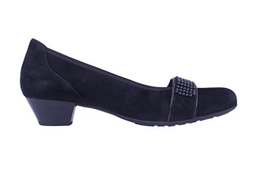 GaborComfort Basic 36.136 - Ballerine Donna Nero (Blau (Schwarz 47))