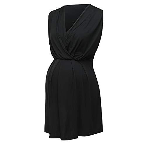 AMUSTER Kleider Damen Schwanger Frau Spitze Lange Maxi Kleid Mutterschaft Kleid Fotografie Requisiten Kleider Umstandskleid