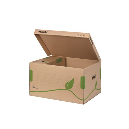 Esselte Eco 623918 80/100mm Top Lid Archiving Box - Brown