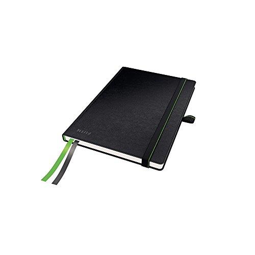 Leitz 44770095 Complete Notizbuch (A5, kariert) schwarz