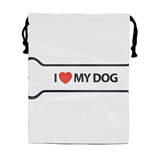 Einst I Love My Party Favors Bags Gift Candy Turnbeutel Pouch (Candy My Love Halloween)