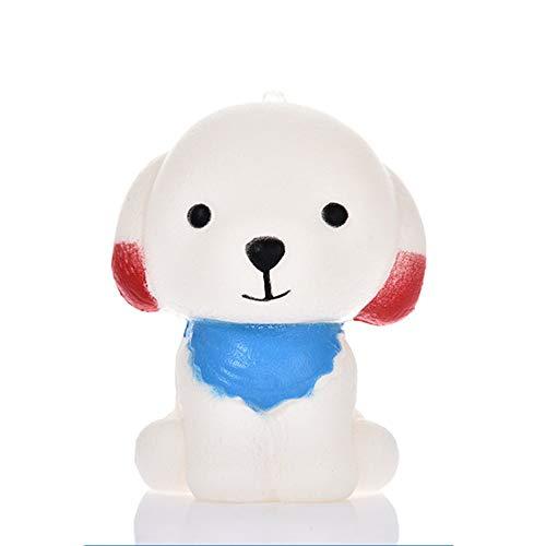 Cartoon-Welpen Duft Hunde weichen PU Langsam Rising Squeeze-Dekompression spielt -
