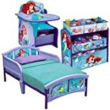 Unique Disney Little Mermaid Storage Toy...