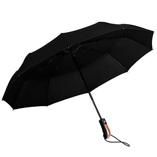 Paraguas Plegable con Apertura y Cierre Automático Compacto y Ligero a Prueba...