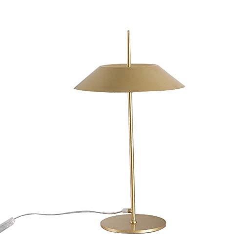 Q&N Lámpara de Mesa de Hierro Forjado nórdico, Estudio de ...