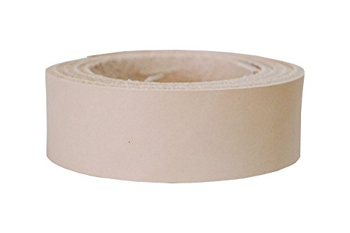 Lederriemen Blankleder natur, Punzierbar, Vollleder zum Färben und Punzieren, Größe:120cm lang x...