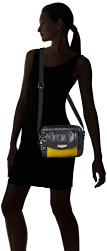 Kipling - Merissa, Borse a tracolla Donna Multicolore (Sunshine Bl)