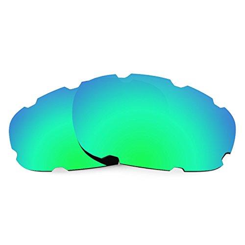 Revant Ersatzlinsen für Oakley Split Jacket Vented Polarisierung Elite Rogue Grün MirrorShield®