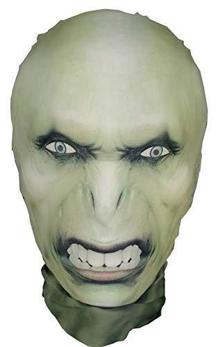 Kostüm Halloween Voldemort - Voldemort-Stil - Halloween-Maske - Ganzkopfmaske - Cosplay-Kostüm - Harry Potter Parodie