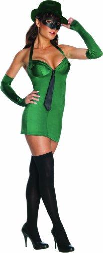 Sexy Green Hornet™ Kostüm für Damen - M