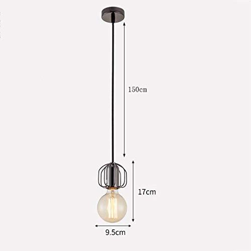 Esszimmer-modern-bett (Kronleuchter Schmiedeglas Kronleuchter Bar Zähler Wohnzimmer Esszimmer Bett mehrfarbig optional modernen minimalistischen Zweig Licht (Color : Bright black))