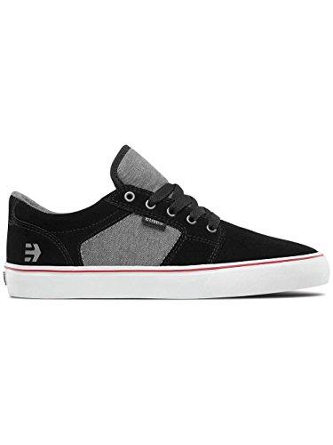 Etnies Herren Barge Ls Skateboardschuhe Black/Charcoal/Silver