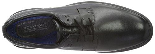 Rockport Herren Dressports 2 Lite Plaintoe Ox Derby Schwarz (black Lea)