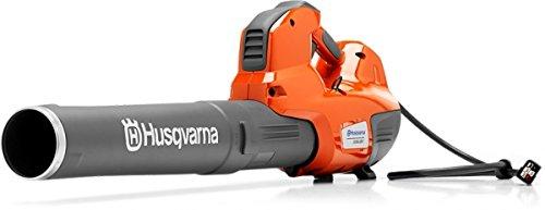Husqvarna 536 - Aspiradora de hojas - Soplador de hojas (18 kmh, Negro, Naranja, Eléctrico, 36 V, Ión de litio, 2,8 kg)