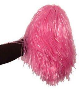 Kostüm Schlecht Cheerleader - PARTY DISCOUNT ® Pom Pom, 240 g, im Beutel, pink