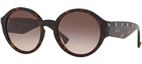 Valentino Sonnenbrillen Rock Stud VA 4047 Havana/Brown Shaded Damenbrillen