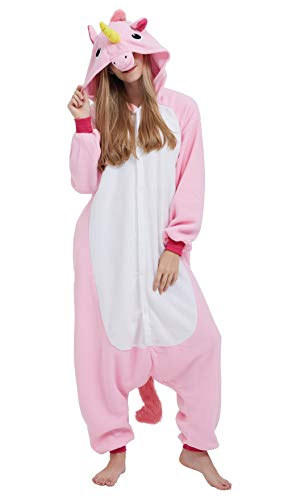 Pigiama unicorno animali cosplay uomo donna adulti costume tuta jumpsuit s