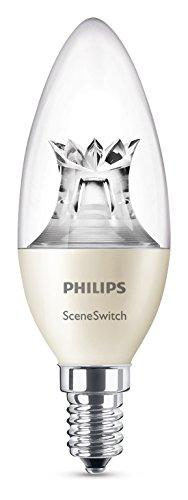 Philips SceneSwitch 3-in-1 LED Lampe, ersetzt 40W, E14 Kerze