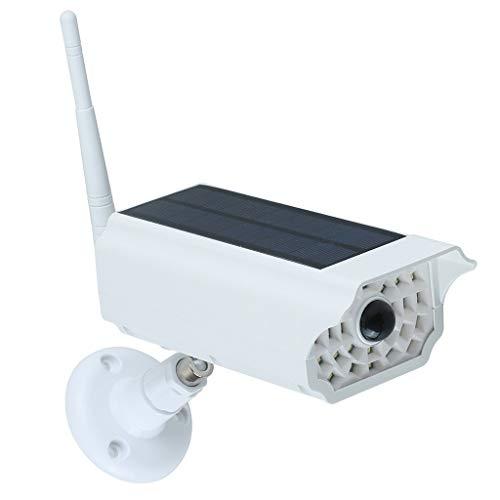 Webla Kreative Dekoration Lichter, CCTV-Heimvideokamera gefälschte Sicherheit zu Hause Solarleuchten analog, Abs + Pc Gefälschte Video-Überwachung