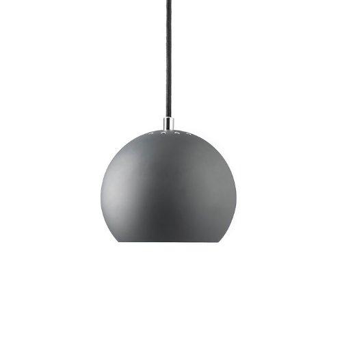 Hängeleuchte Ball (grau)