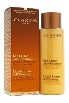 Clarins Liquid Bronze Self Tanning (Face & Decollete) 125ml/4.2oz - Hautpflege