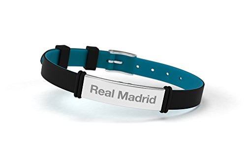 SPORTS Real Madrid Black Fashion Bracelet