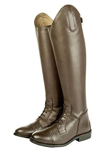 HKM Erwachsene Reitstiefel -Spain-, Softleder, Standardlänge/-weite2400 braun39 Hose, 2400 braun, 39