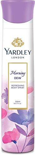 Yardley London - Morning Dew Refreshing Deo for Women, 150ml