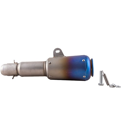 autofy universal thick barrel slip on exhaust silencer muffler for all bikes (multicolor) Autofy Universal Thick Barrel Slip On Exhaust Silencer Muffler for All Bikes (Multicolor) 310nSwykv2L