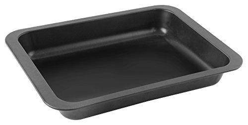 Zenker Fixe Ofenbackform, für leckere Aufläufe, perfekt für schnelle Gerichte im Ofen, Backform mit Antihaftbeschichtung, (Farbe: schwarz), Menge: 1 Stück