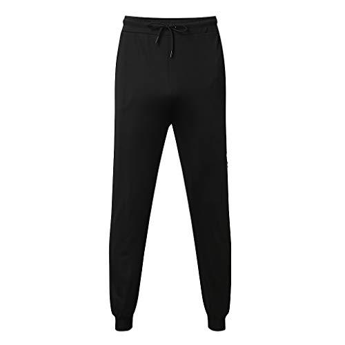 Frühling und Sommer Herren einfarbig Gummiband Tasche Prise Sporthosen Solid Color Elastic Band Pocket Sports Pants Schwarz M/L/XL/XXL/3xL/4xL/5XL - Transfer Bermuda