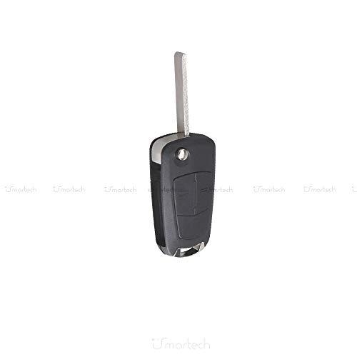 Guscio Chiave Telecomando 2 Tasti Per Opel Vectra Astra Tigra Corsa Zafira Scocca Cover Con Lama