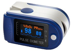 AVAX 50D Finger Pulse Oximeter & Heart Rate Monitor for Paramedics