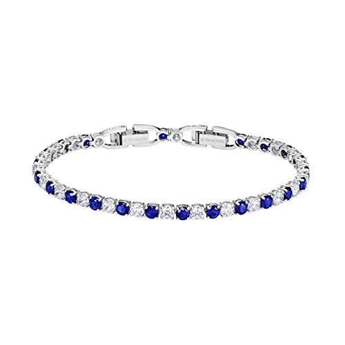 Swarovski braccialetto tennis donna placcato_oro - 5506253