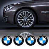 4 x 65mm diamètre chapeau central de roue BMW emblème autocollant auto-adhésif pour surfaces planes prix bon marché