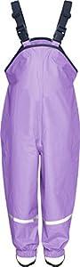 Playshoes Unisex - Baby Latzhose 405424 Regenlatzhose, Gr. 80, Violett (10 flieder)