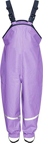 Playshoes Unisex - Baby Latzhose 405424 Regenlatzhose, Gr. 74, Violett (10 flieder)