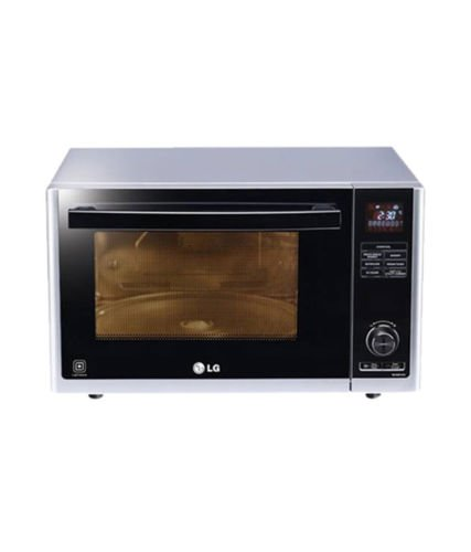 LG 32 L Convection Microwave Oven (MJ3283CG, Silver)