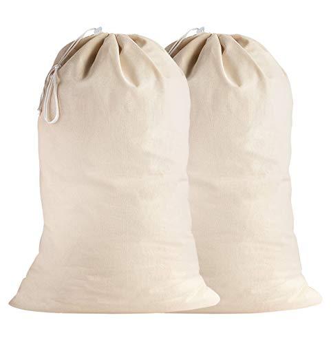 SweetNeedle - Pack 2 - 100% algodón Bolsas lavandería