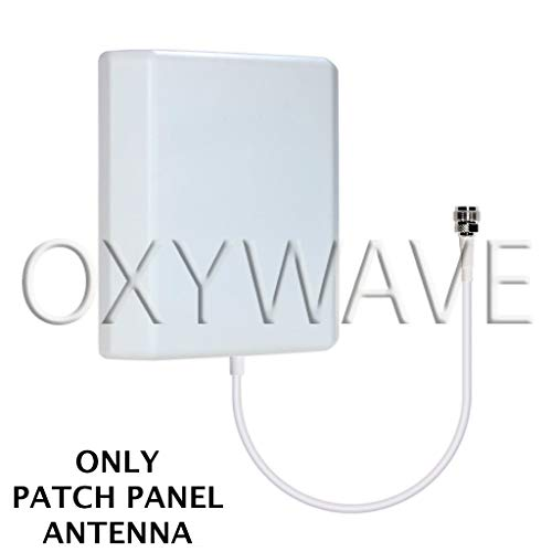 Buy OXYWAVE® High Gain Outdoor/Indoor Wall Mount Directional Patch Panel Antenna with N-Female Connector 698 to 2700MHz 9dBi for Mobile Signal Booster – White online in India at discounted price
