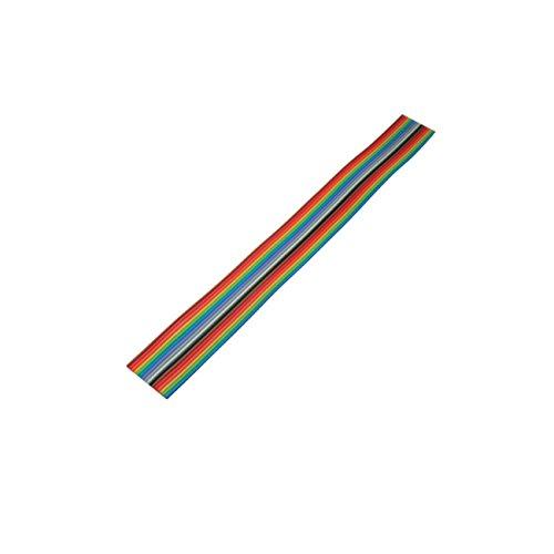 MANAX® Flachbandkabel farbig bunt Raster 1,27mm 16 pin (3,0 m)
