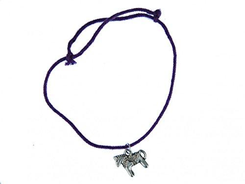 Cavallo Ciondolo Miniblings fortuna braccialetto regolabile Dala