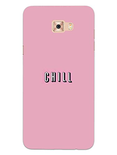 Samsung C9 Pro Back Cover - Take A Chill Pill - Quote - Printed Designer Hard Back Case  available at amazon for Rs.469