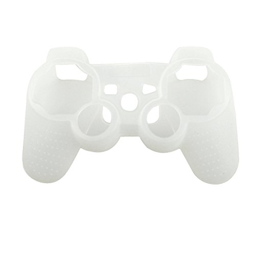 Silikon-Schutzhülle für Sony PS3 Controller Playstation 3 Dualshock Wireless Gamecontroller WH one Size