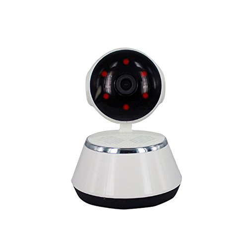 Wifi IP-Kamera 720p HD, Home IP-Kamera motion detection IP-Überwachungskamera motion Wireless Spy Network Baby Elder monitor, White