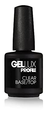 Salon System Profile Gellux Clear Base/ Top 15ml