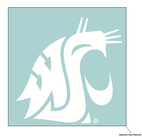 Wincraft NCAA Washington, State University WSU Cougars, 15,2 x 15,2 cm, Weiß (Washington Cougars State University)