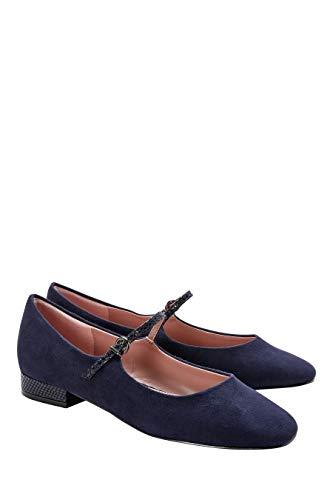 next Damen Forever Comfort Mary Jane-Schuhe Marineblau 38.5 EU - Mary Jane-tennis-schuhe