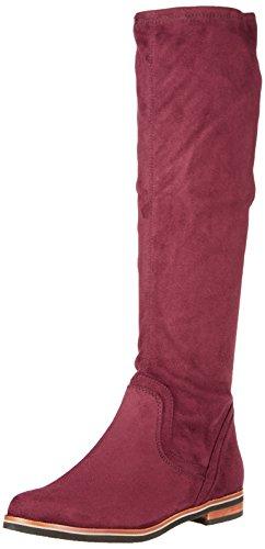 Caprice Damen 25507 Stiefel, Rot (Bordeaux Stre.), 41 EU