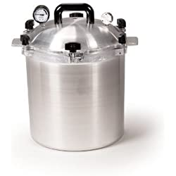 All-American 25-Quart Pressure Cooker/Canner by Wisconsin Aluminum Foundry